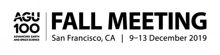 AGU fall meeting 2019 logo