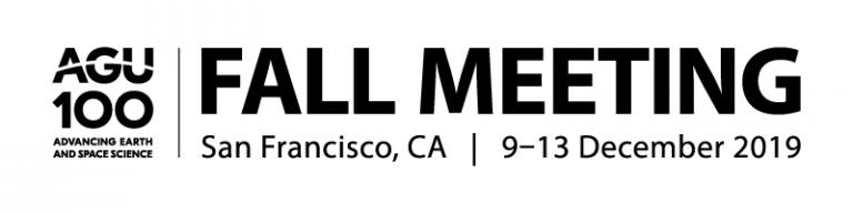 AGU fall meeting 2019 logo