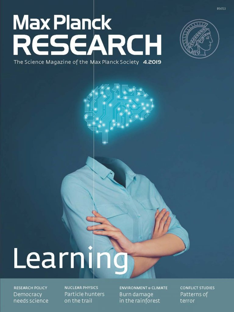 Cover Max Planck Research 4/2019