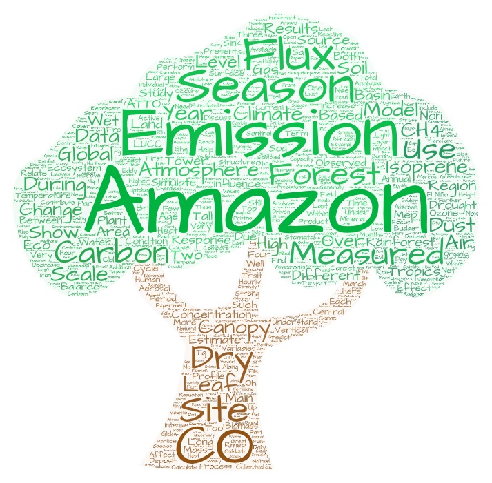 EGU 2020 program for session on Amazon forest