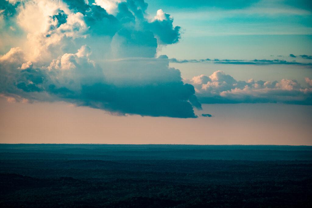 Clouds over the rainforest at ATTO / © Paulo Brando