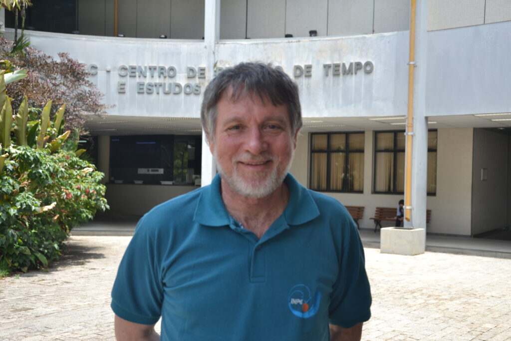 Me at INPE in Cachoeira Paulista, where I currently work.