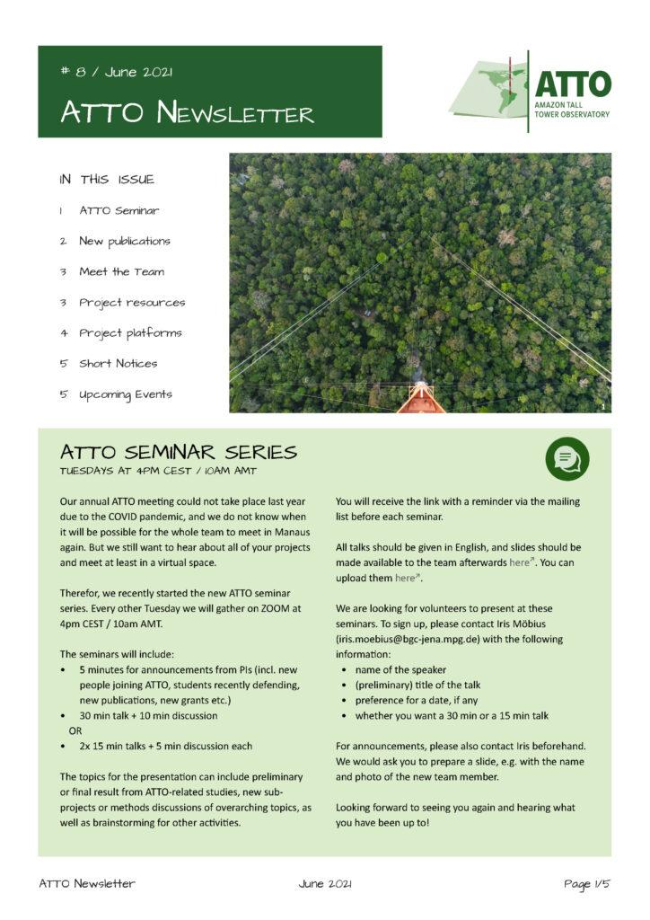 ATTO Newsletter June 2021
