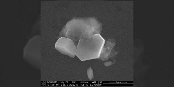 Im Jahr 2016 erzeugten Wissenschaftler des Pacific Northwest National Laboratory Eiswolkenkristalle im Labor und nahmen dann Bilder des Prozesses durch ein Mikroskop auf, um die ersten Schritte der Wolkenbildung mit eisbildenden Partikeln zu visualisieren.