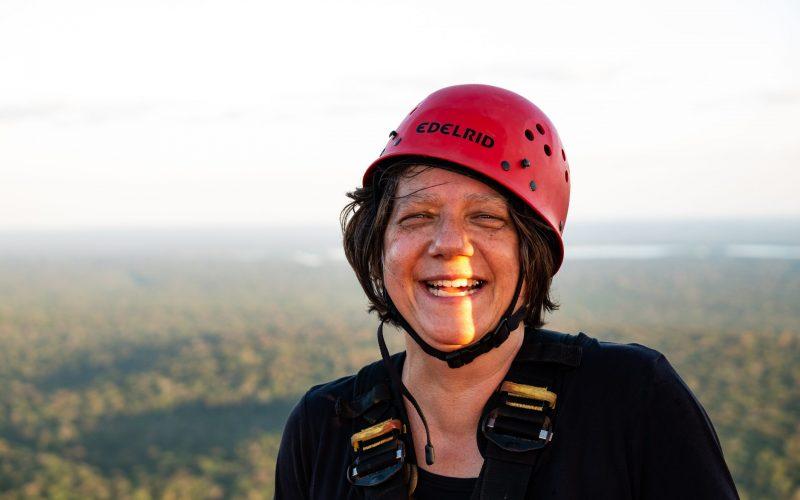 Sue Trumbore is the German coordinator for ATTO