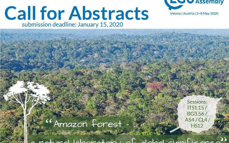 EGU call for abstracts
