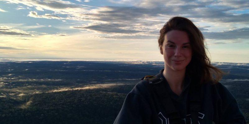 Michelle Robin studies VOC emissons and plant traits